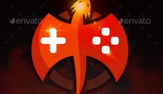 Logotipo con Dragón para actividades relacionadas con los Videojuegos